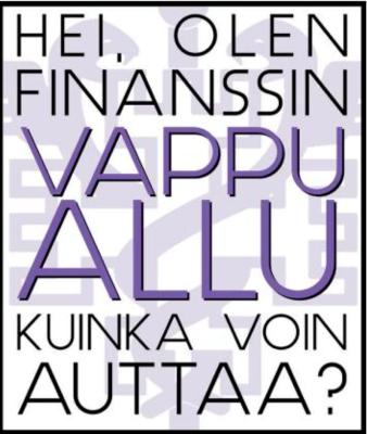 Joko olet kuullut Finanssin Vappu-Alluista?